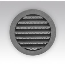 10РКМ Решетка вент. круглая с  алюм.фланцем Д100