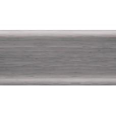 Плинтус с кабель каналом RIKO LEO №102 ольха серая/40шт