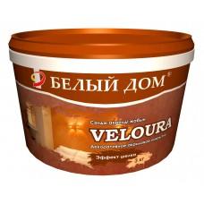 """декоративное покрытие """"Veloura"""" бронза 3кг"""